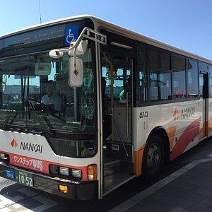 このようなバスが使われます。