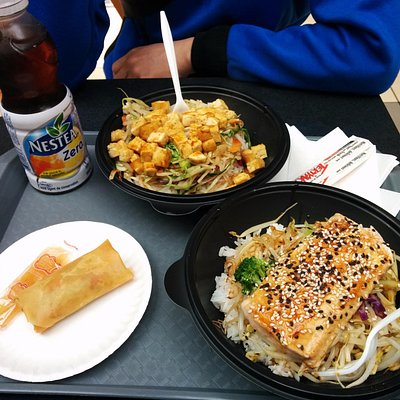 Lunch at food court