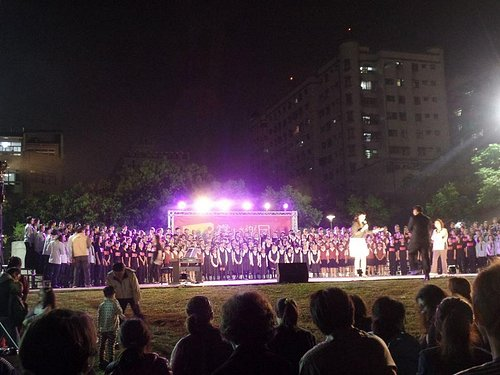 free performance at the Chiayi Cultural Park