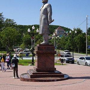 Satue of Lenin