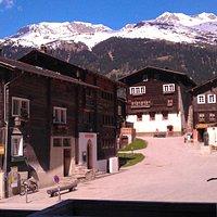 Dorfplatz von Ernen