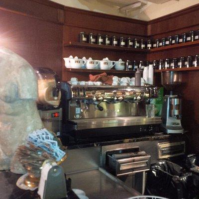 interno del caffè