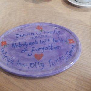 My Ohana plaque