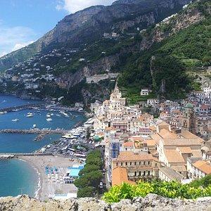 Amazing view from Amalfi