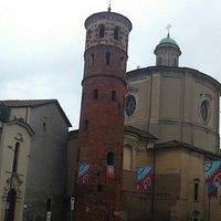 Torre Rossa di San Secondo durante il Palio