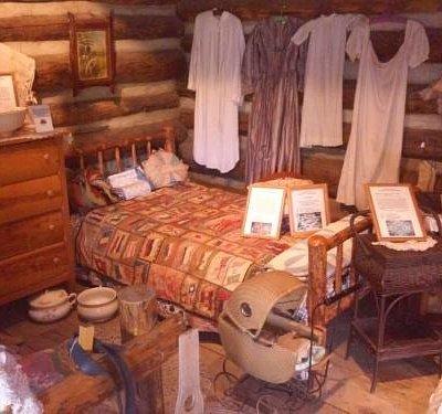Old Cabin Bedroom