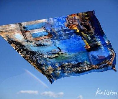 Kaliston Art Silk Scarves & Pareo