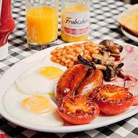 Breakfast served till midday.