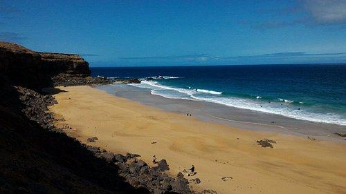 Playa de la Escalera.