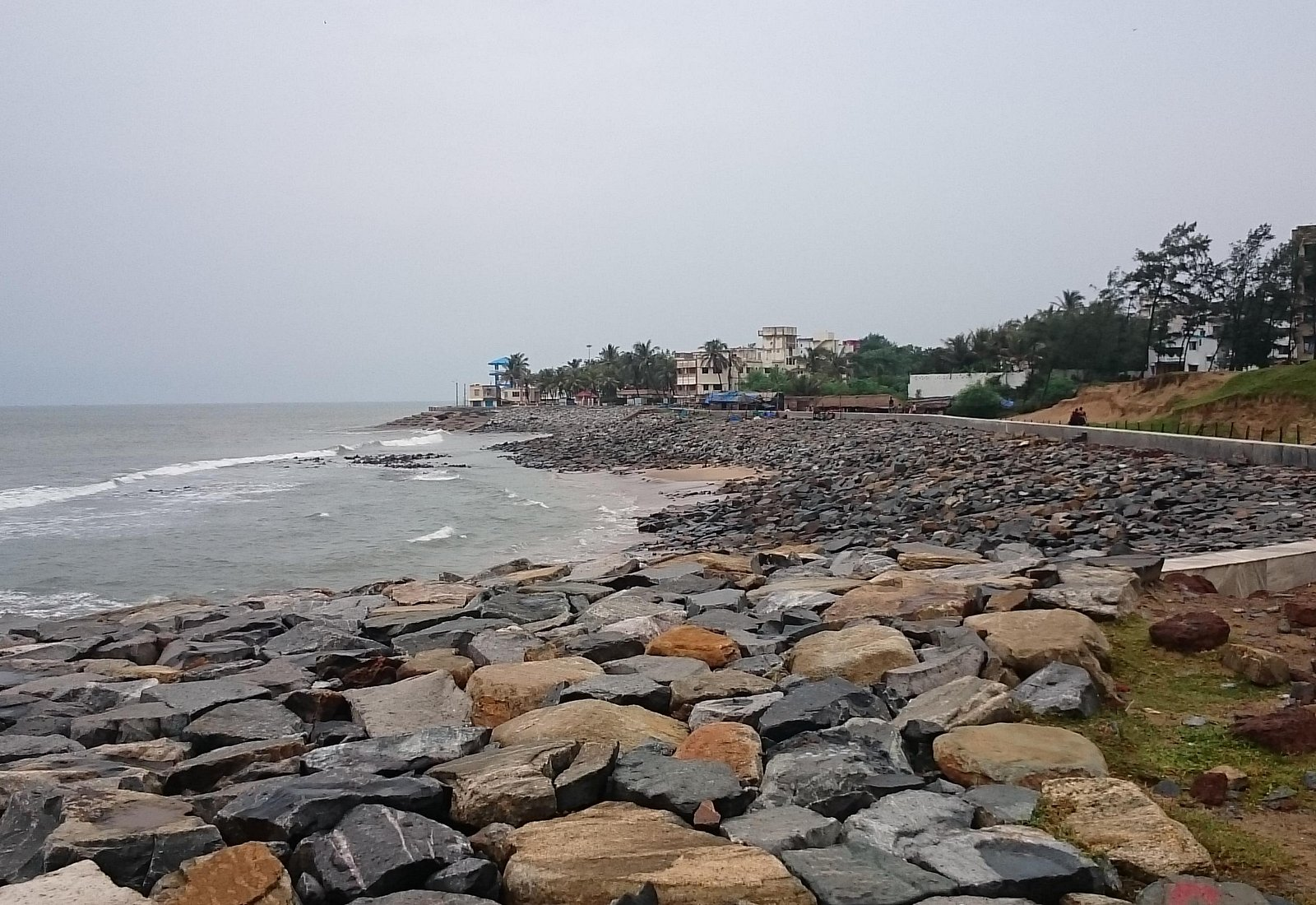 the sea beach at old digha