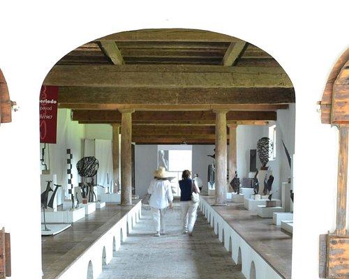 Sala interna del Museo, situata nelle antiche cantine di Villa Marignana Benetton