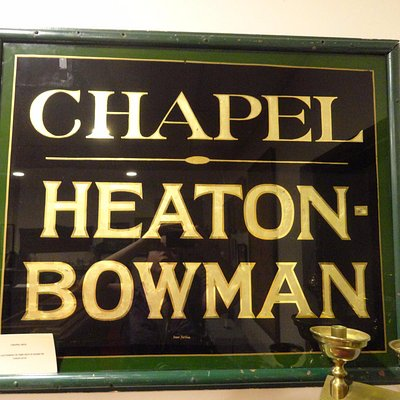 Chapel Heaton-Bowman sign