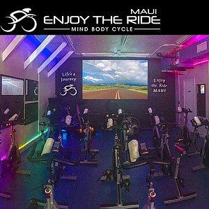Enjoy the Ride MAUI a spin studio