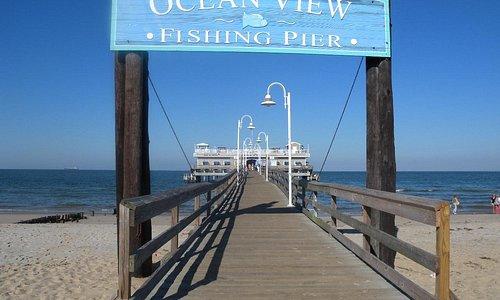 Ocean View Fishing Pier Entrance