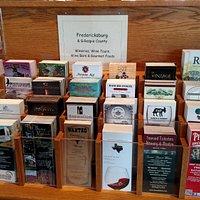 F'Burg Visitor Center Info Rack