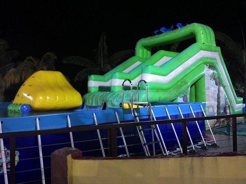 chargeable to get in this inflatable pond