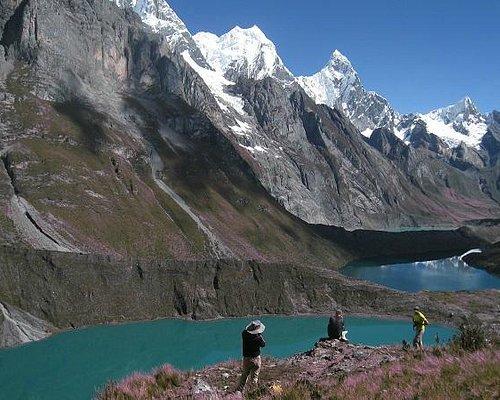 Siula Lakes, Cordillera Huayhuash Classic Trek