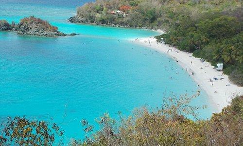Beach on St. John--Take the Ferry