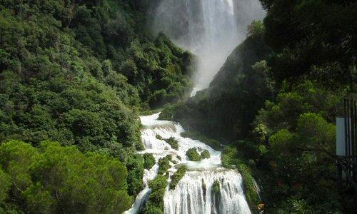 Cascatta della Marmore, erg mooie waterval