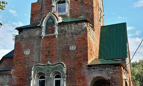 Церковь С. Саровского в селе Федино