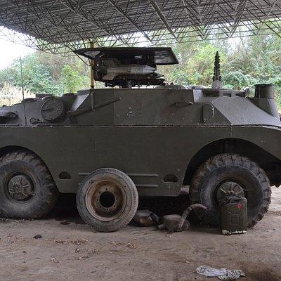 Soviet armoured vehicle