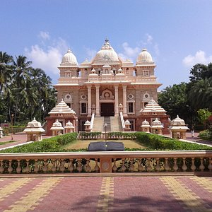 landscape view of new temple