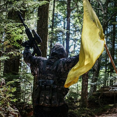 Capture the flag at Avalanche Paintball
