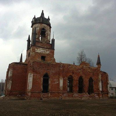 Храм в усадьбе Марьино