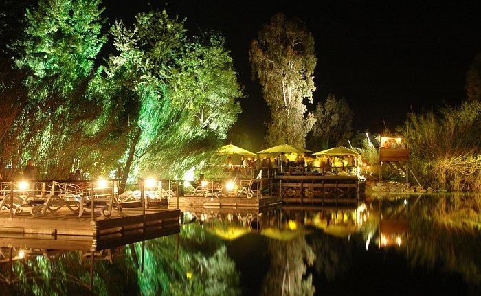 Ecoparco del Mediterraneo - Pontile serale