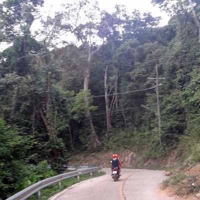 Road to Koh Lanta Lighthouse