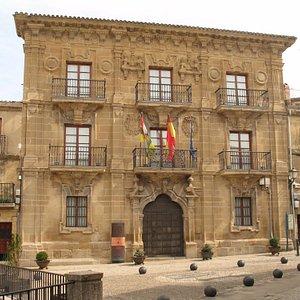 Palacio del Marqués de San Nicolás. Actual ayuntamiento de Briones
