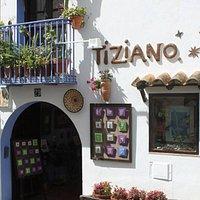 Sala de arte Tiziano, casco antiguo de Peñíscola