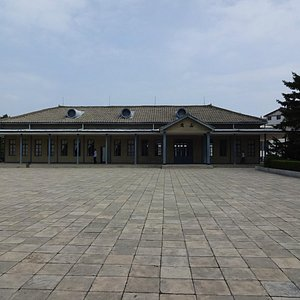 The Outside of Wonsan Old Railway Station