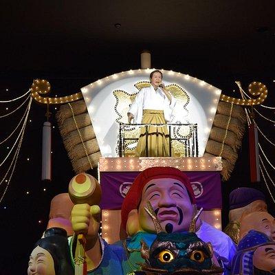 展示の最後は人形によるコンサートを楽しめます