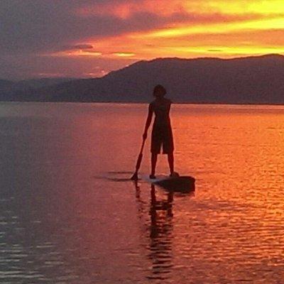 Paddle Board on Flathead Lake.