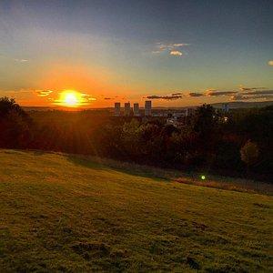 Sunset at ruchill.