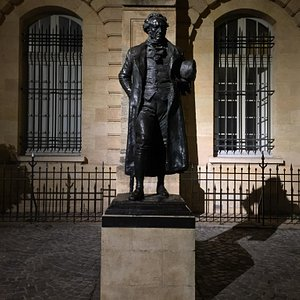 statua dedicata a Francisco de Goya dono della città di Madrid
