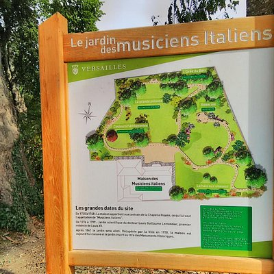 Entrance Park Maison des Musiciens Italiens
