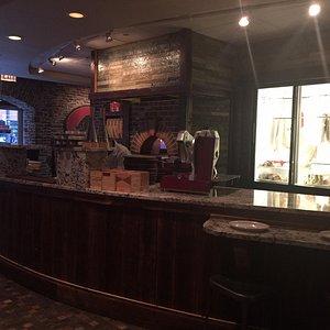 Nice restaurant and wine bar atmosphere