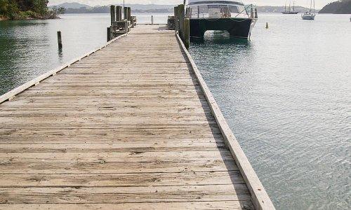 Mansion House Wharf and Kawau Ferry