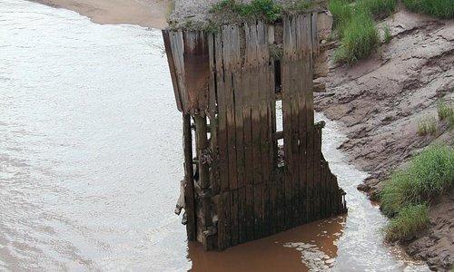 Alter Brückenpfeiler