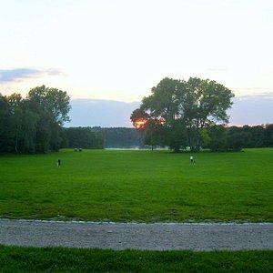 Blick über den Park