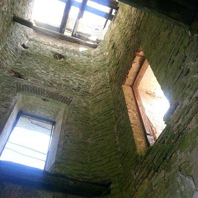 Руины кирхи в Шпаньково