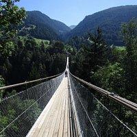 Hängebrücke - Vista para Mühlebach