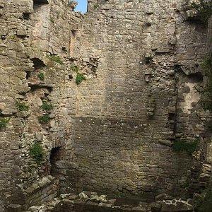Inside monea castle