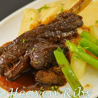 THE PINK HEAVEN RIBS - must try on this BEST SELLING menu