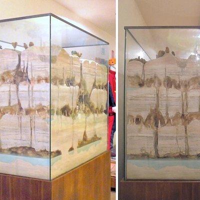 Museu Speleo Paleontologico e Archeologico de Genga:  modelo cársico
