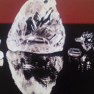 Cullinan Diamond 3106cts is the world's laggerst