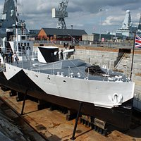 HMS M33, Portsmouth Historic Dockyard