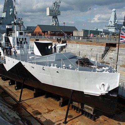 HMS M33, Portsmouth Historic Dockyard